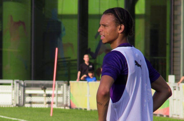 Leroy Sane is yet to sign a new contract with City