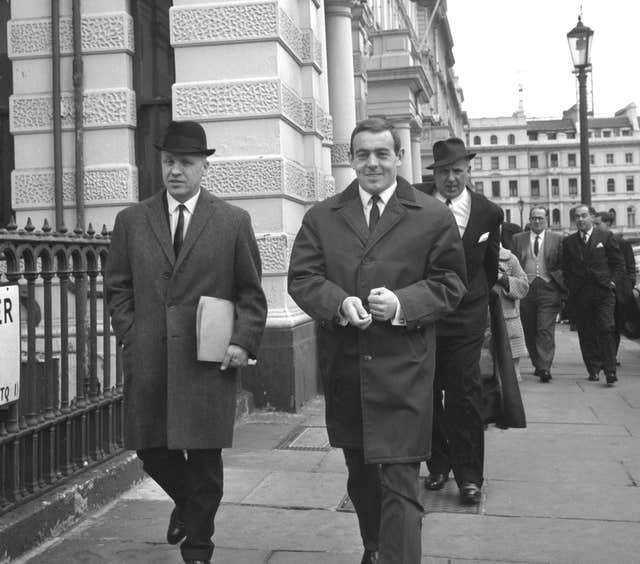 Ian St John – FA Meeting – London