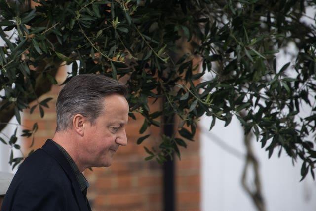 David Cameron (Victoria Jones / PA)