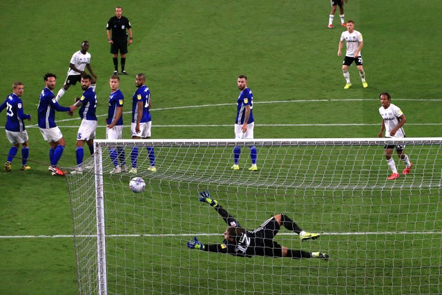 Neeskens Kebano's late free-kick on Monday left Cardiff facing a huge task to reach the final