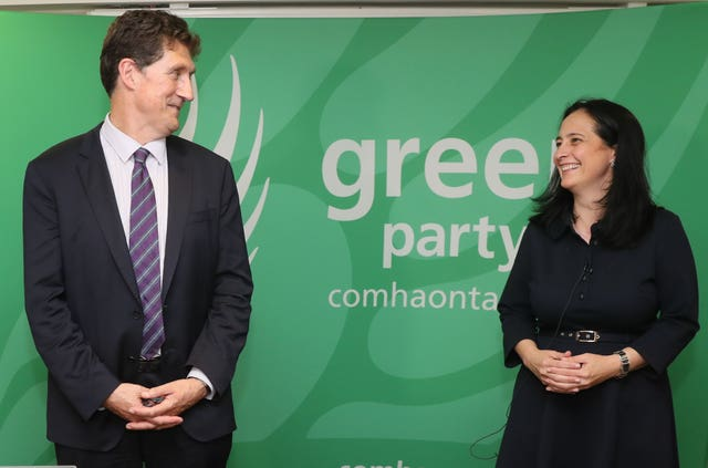 Eamon Ryan and Catherine Martin