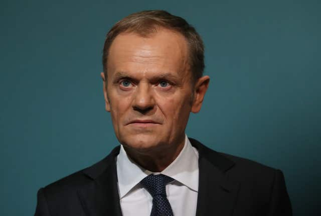 Donald Tusk has made it clear he believes everyone loses from BReix (Niall Carson/PA)