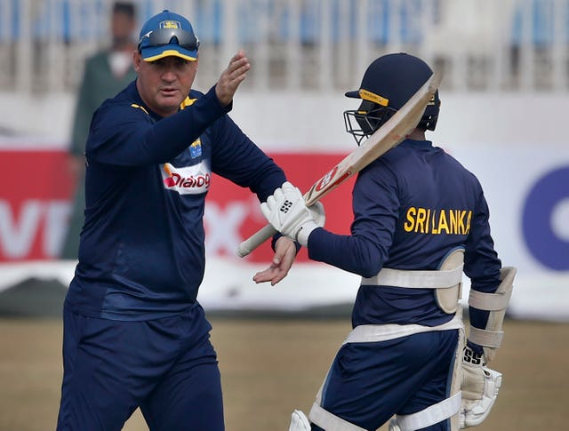 Mickey Arthur (left) is the new Sri Lanka coach