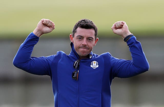 McIlroy believes there is more pressure playing in the Ryder Cup than contending in majors