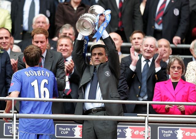 That was a happier occasion for Mourinho, who was then Blues boss