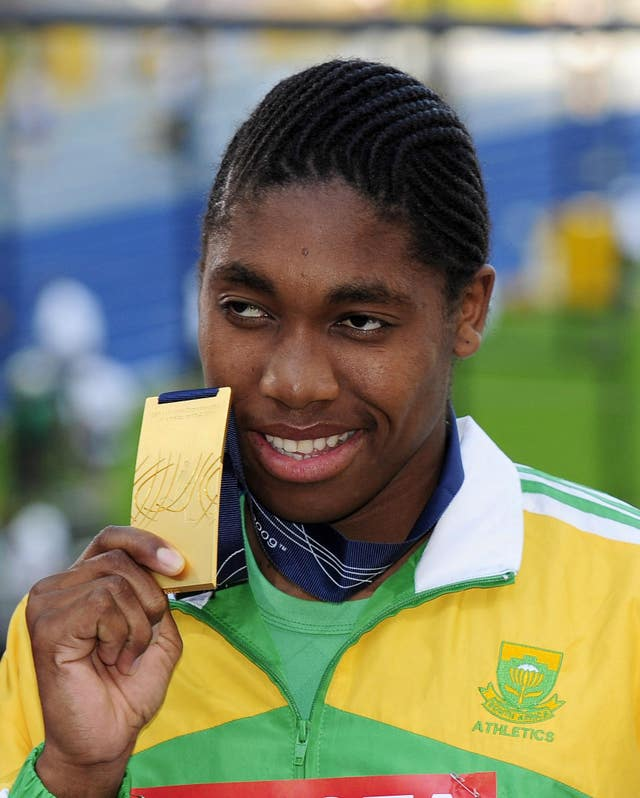 Caster Semenya burst on to the global stage by winning gold at the 2009 World Champioships in Berlin