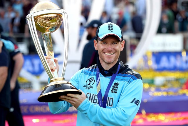 Eoin Morgan captained England's cricketers to World Cup success