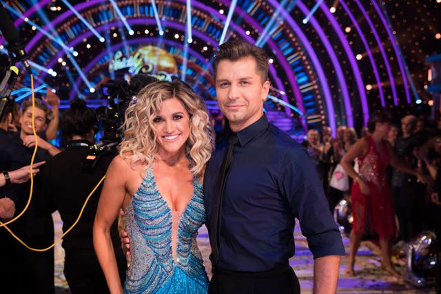 Ashley Roberts and Pasha Kovalev