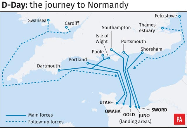 D-Day: the journey to Normandy