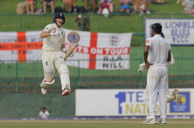 Joe Root put England in control of the second Test