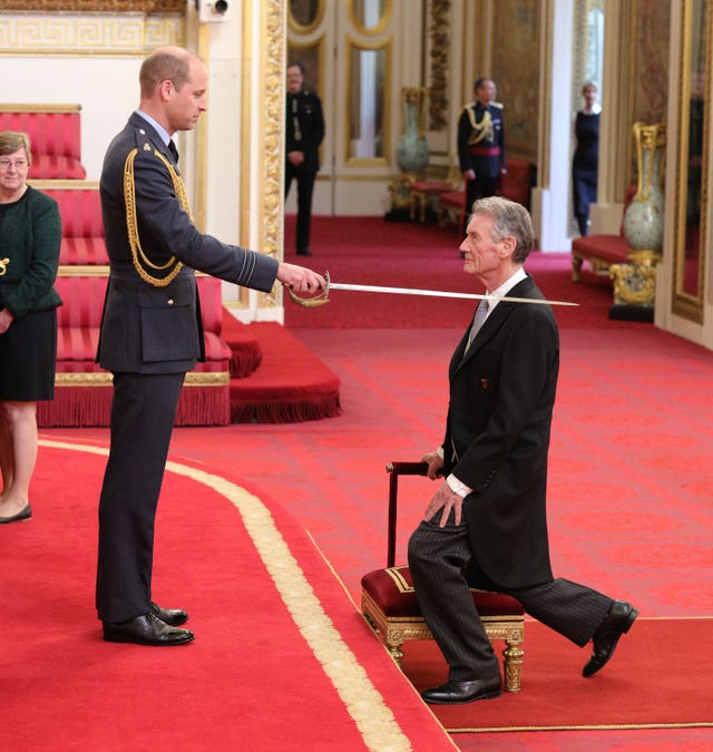 Sir Michael Palin knighted