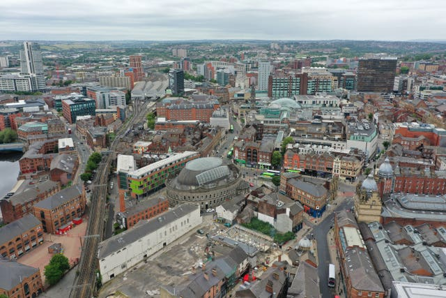 Leeds aerial views