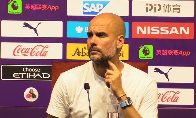 Guardiola refused to be drawn on links to Harry Maguire