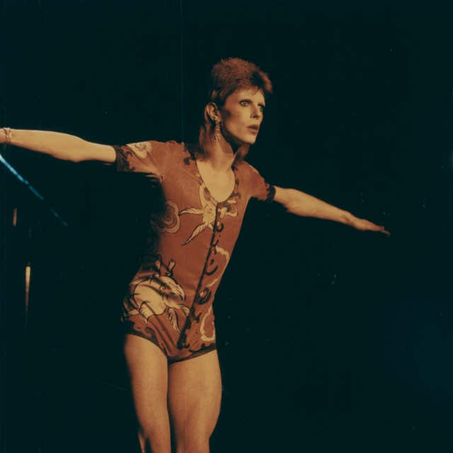 Bowie in 1972