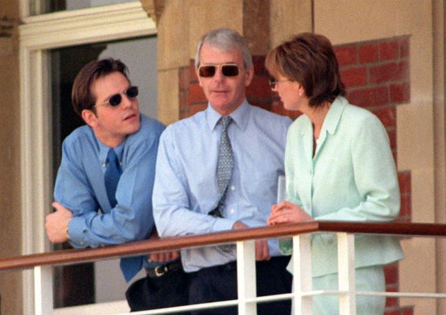 Former prime minister John Major at the Oval cricket ground, south London, on May 2 1997, the day after his party lost the General election (David Cheskin/PA)