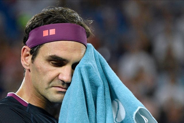 Roger Federer did not take his chance in the first set