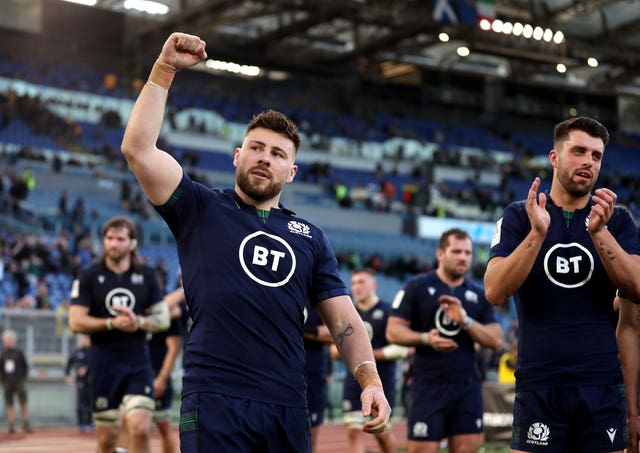 Scotland celebrated their first Guinness Six Nations win in over a year