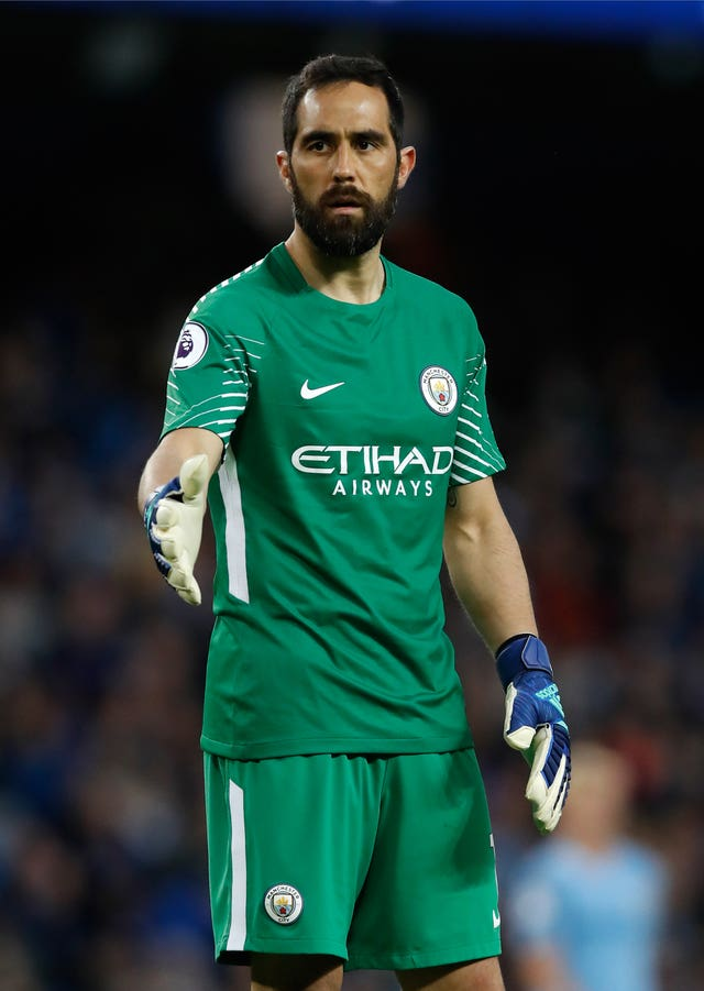 Claudio Bravo comes in for the injured Ederson at Anfield