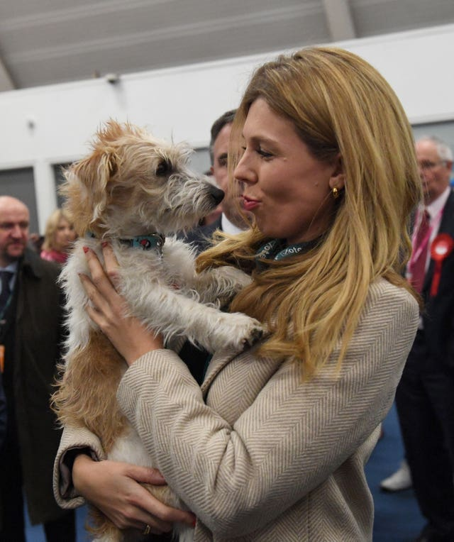 Carrie Symonds animal charity appointment