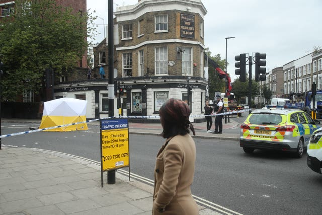 Kentish Town shooting