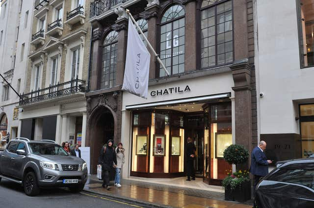 Chatila jewellers burglary