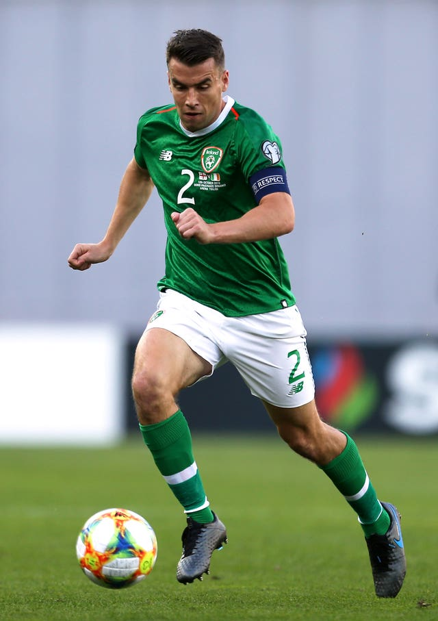 Seamus Coleman lost his Republic of Ireland place to Matt Doherty last month