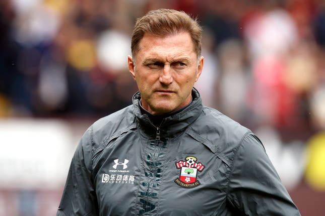 It was a frustrating day for Southampton boss Ralph Hasenhuttl
