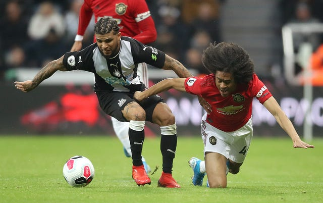 United have given chances to the likes of young Dutch defender Tahith Chong (right) this season.