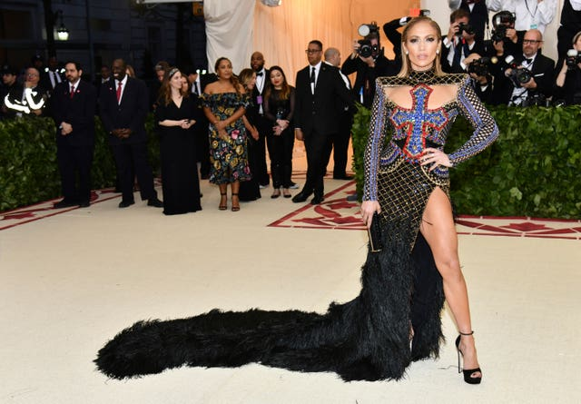 Jennifer Lopez attends The Metropolitan Museum of Art's Costume Institute benefit gala (Charles Sykes/Invision/AP)