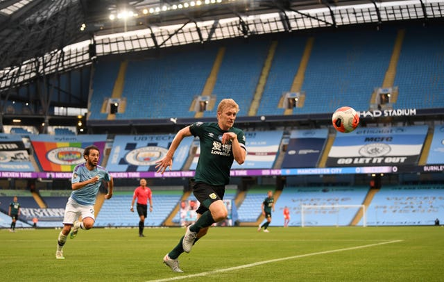 Manchester City v Burnley – Premier League – Etihad Stadium