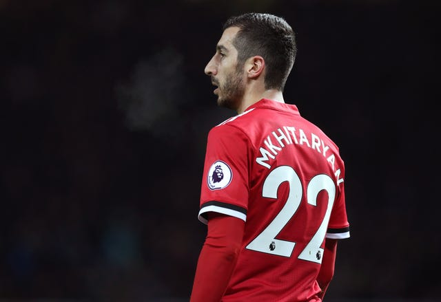 Mkhitaryan endured a testing time during his spell at Man Utd.