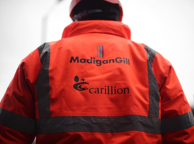 The Government has been heavily criticised for its role in the collapse of Carillion (PA/Yui Mok).