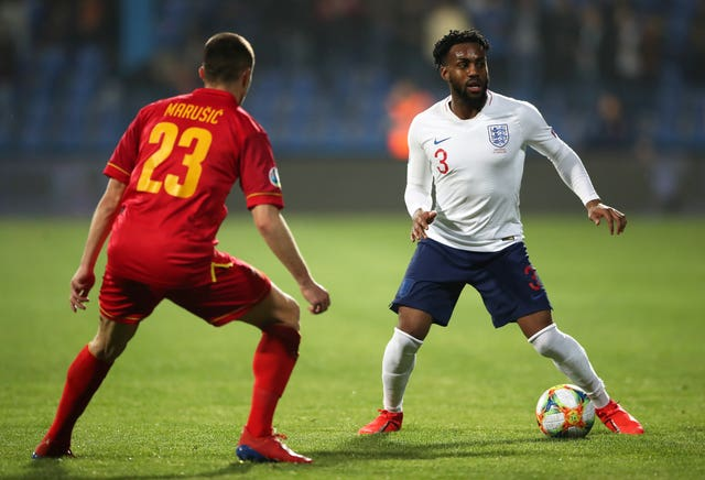 The left-back was subject to racist abuse while playing with England in Montenegro