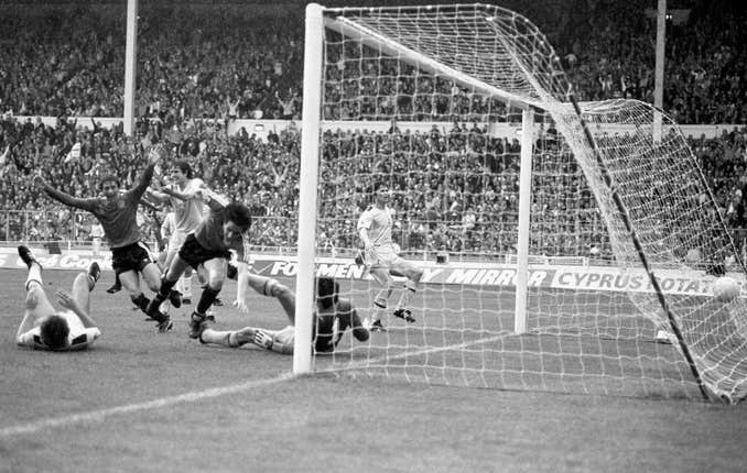 Spurs went on to win the FA Cup in 1982, beating QPR following a replay when a late goal from Terry Fenwick past Clemence had seen the final end 1-1 after extra-time at Wembley