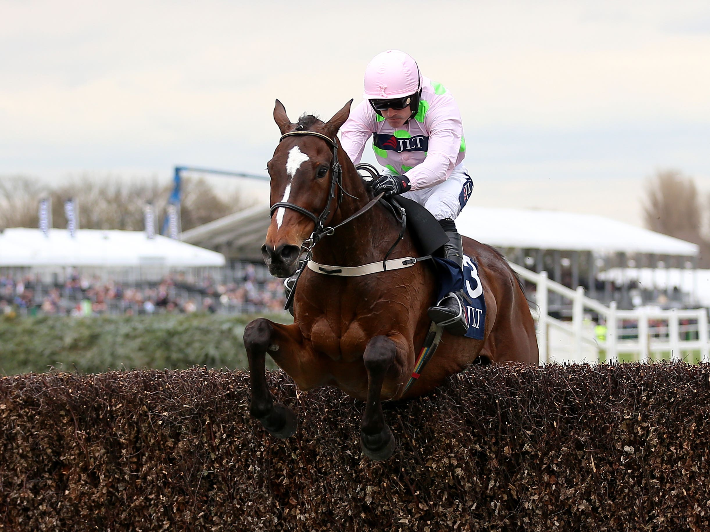 Min heads Willie Mullins' team for the John Durkan (Nigel French/PA)