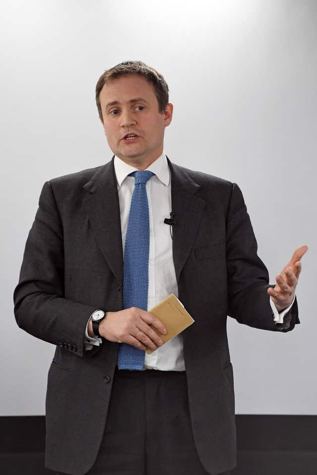 Tom Tugendhat, chair of the Foreign Affairs select committee (Victoria Jones/PA)