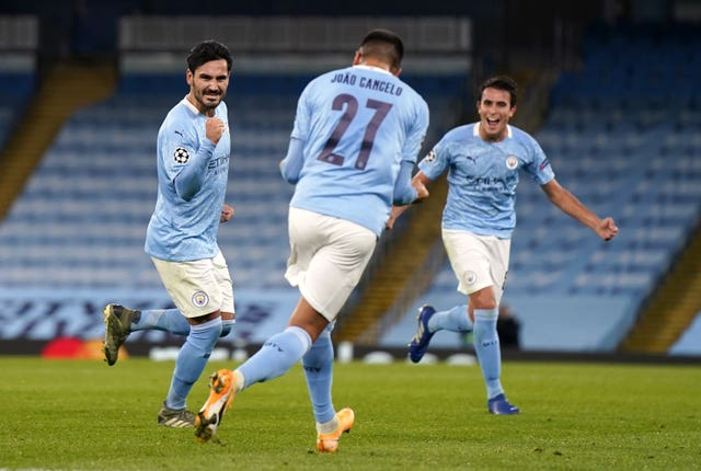 City have made a confident start in the Champions League with victories over Porto and Marseille