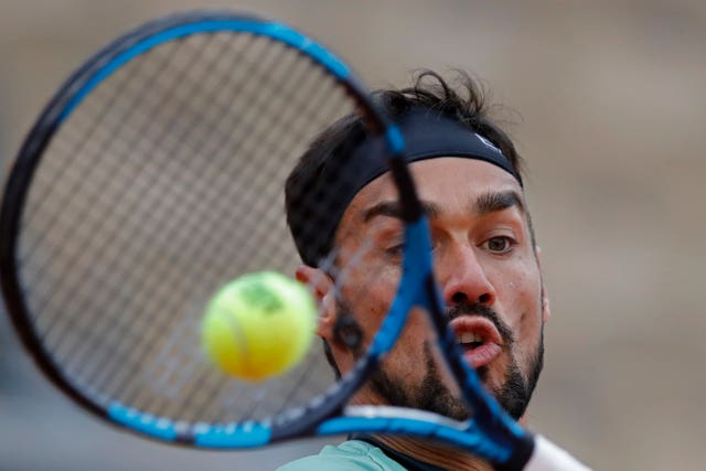 Fabio Fognini was beaten by Mikhail Kukushkin