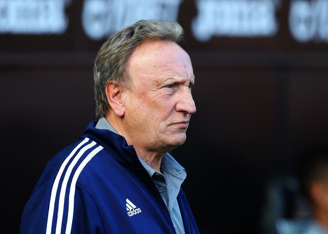 Cardiff manager Neil Warnock attended Sala's funeral service in Argentina