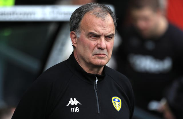 Marcelo Bielsa's Leeds finished third in the Championship last season (Mike Egerton/PA)..