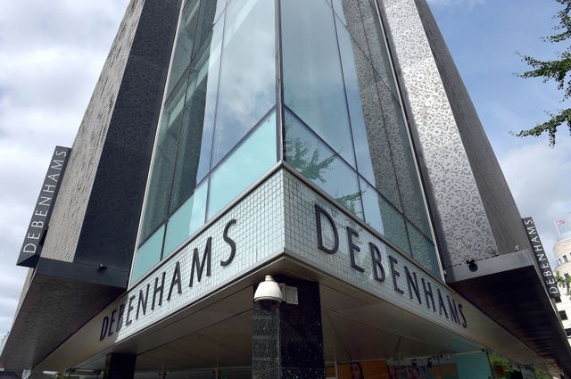 Debenhams restructuring plans