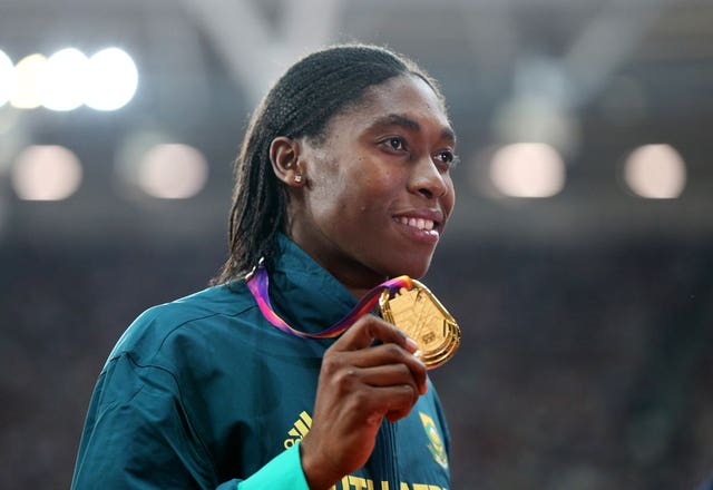 Caster Semenya won her third world title in London in 2017