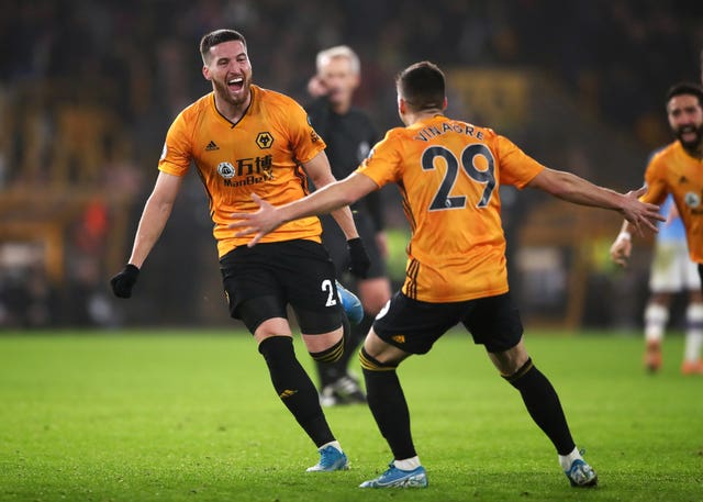 Matt Doherty scored Wolves' winner