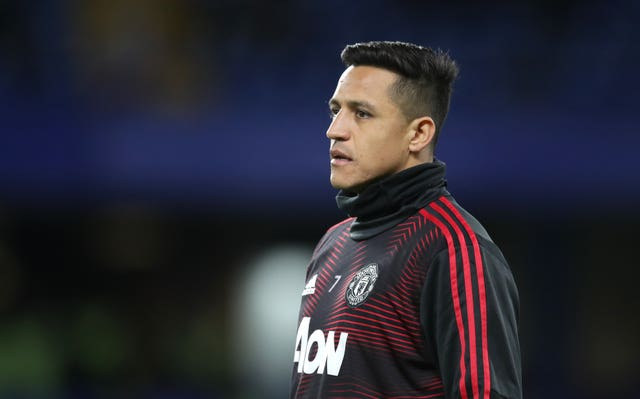Alexis Sanchez endured a torrid time at Old Trafford