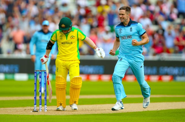 Woakes had Warner caught at slip