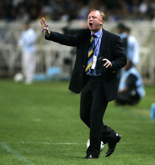 Alex McLeish led Scotland to victory in Paris in his first spell in charge