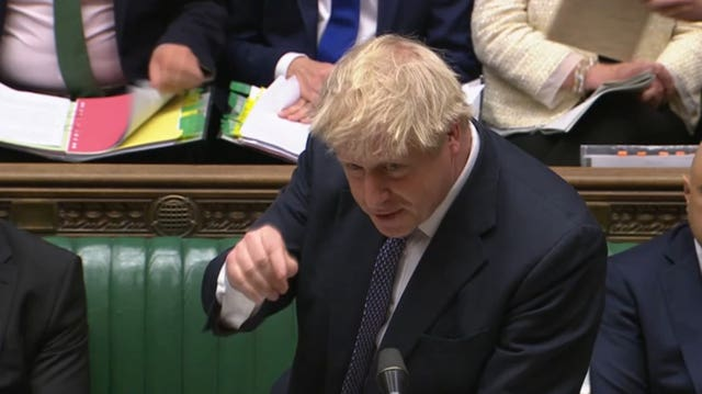Boris Johnson answers Prime Minister's Questions