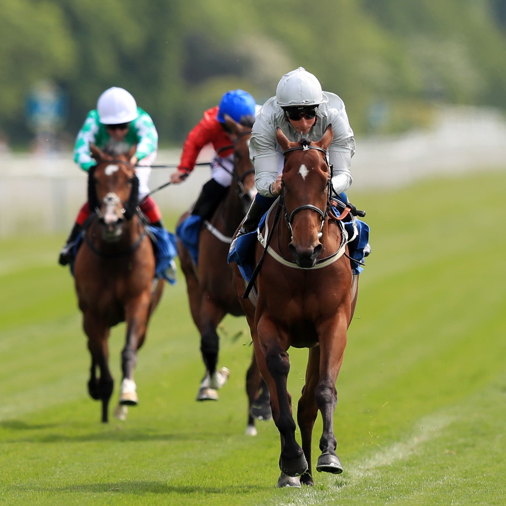 Threading won well in the hands of William Buick at York (Simon Cooper/PA)