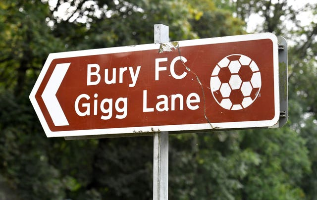 The road ahead for Bury remains uncertain