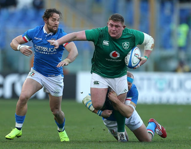 Ireland struggled to victory against Italy in Rome